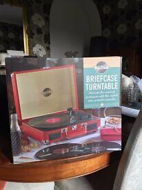 Retro Turntable Briefcase