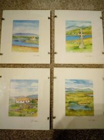 framed prints of Ireland by pat flavell