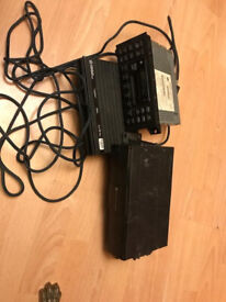 Complete radio with amplifier and changer jeep grand cherokee 1999-2004