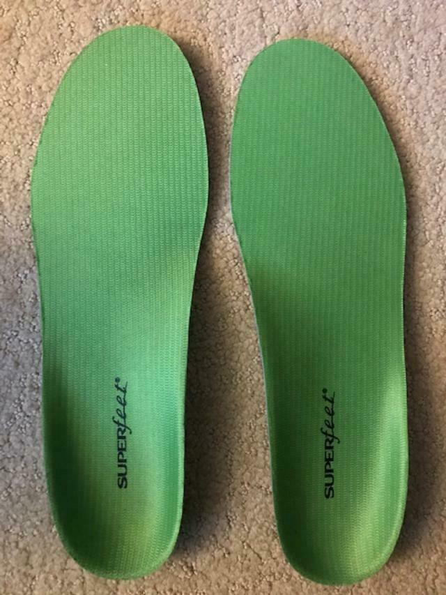 Brand New Superfeet Green Orthotic Insole High Arch Orthotic