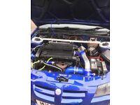 T16 MG ZR TURBO 2.0 TOMCAT ENGINE SWAP ENDURO red top nova golf gti