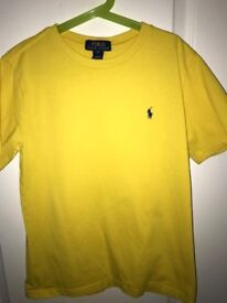 Genuine Ralph Lauren and Penfield Boys T-Shirts : Excellent Condition : Size M (10-12Y)