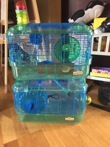 2 hamster cages $20 each