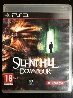 DOWNPOUR -SILENT HILL  PS3 PLAYSTATION - PAL ESPAÑA - COMPLETO segunda mano  Peñacastillo