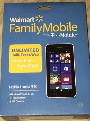 Nokia Lumia 530 - 4 GB - White (T-Mobile)        *** BRAND NEW IN BOX ***