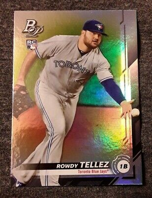 ⚾️2019 bowman platinum ROWDY TELLEZ (rookie) baseball card #16⚾️ *Blue Jays*