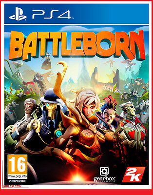 BATTLEBORN PS4 Playstation 4 Jeu Video Borderlands créateurs