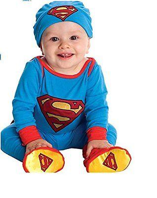 Superman DC Comics Super Friends Infant Theme Party Costume Boys 0-6 months