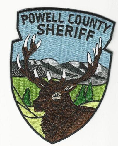 Powell County Sheriff State Montana MT Scenic