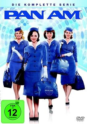 Pan Am - Die komplette Serie 4 DVDs - Original Serie