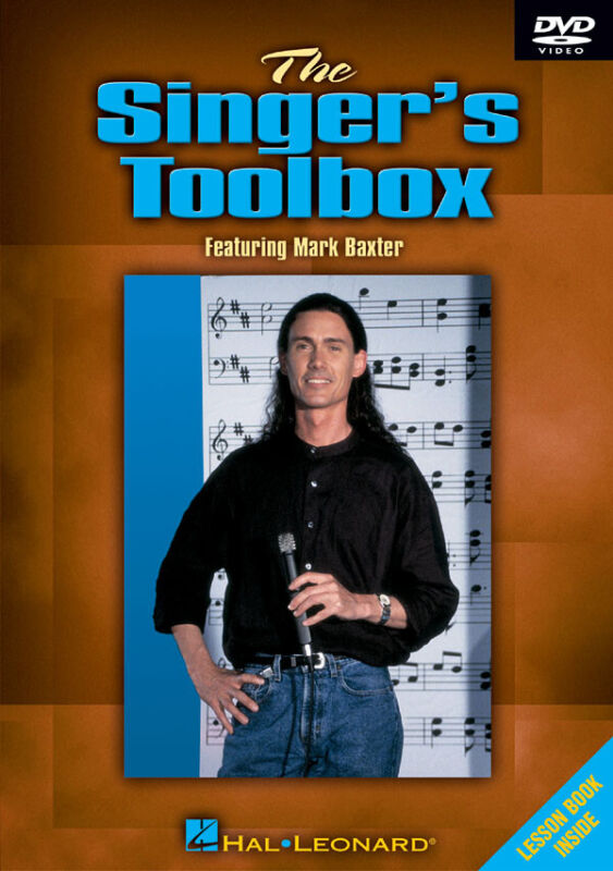 The Singer Tool Box Learn Voice Lessons Vocal Singing Video Hal Leonard DVD
