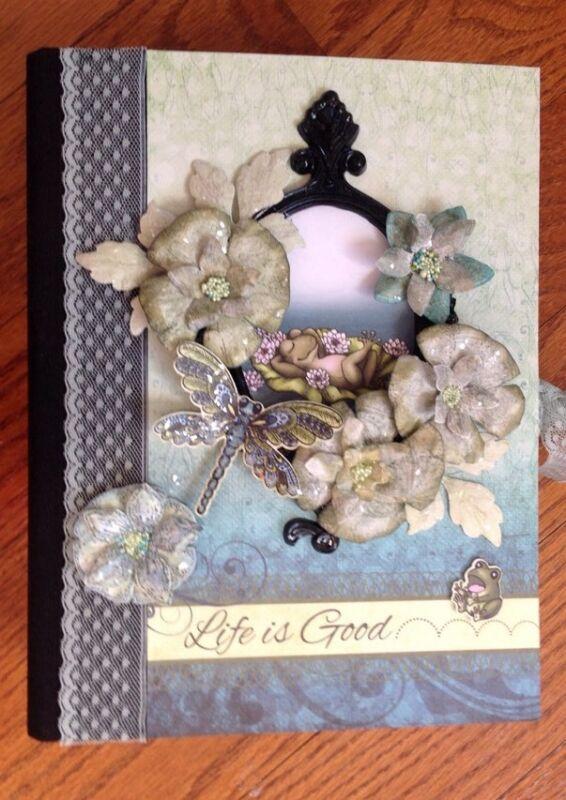 Handmade Album using Winking Frog Collection