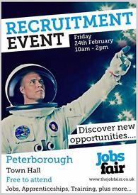 Jobs Fair in Peterborough