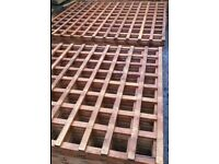Trellis 6ftx1ft panels fencing