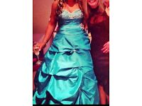 Fantastic Swarovski hand beaded prom dress from confetti and lace