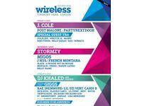 1 Wireless Saturday ticket - General admission