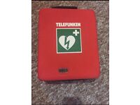 Telefunken F1 AED Defibrillator New Condition ( Original Price £950)