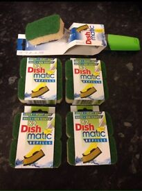 Dishmatic and 4 refill packs