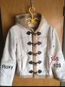 Manteau hiver de femmes NEUF marque ROXY small petit réduit