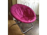 2x pink moon chairs