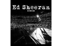 Ed Sheeran - Wembley - June 16th - Pitch standing