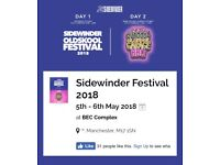 sidewinder festival 2018 tickets