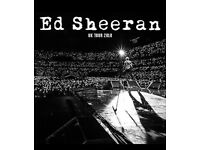 Ed Sheeran - Wembley - June 16th - Pitch standing