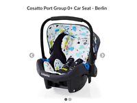 Brand new Cosatto Port car seat RRP £175