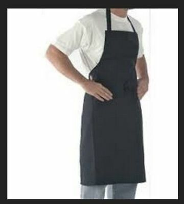 Denny's Long Life Bib Aprons - Navy - DP53B - Box80