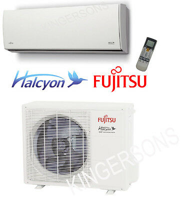 9000 BTU Ductless Mini Split Air Conditioner SEER 27 FUJITSU COOL & HEAT ~NEW~
