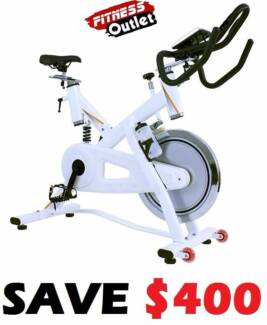 NEW ULTIMATE SEMI COMMERCIAL 25KG WHEEL SPIN EXERCISE BIKE Wangara Wanneroo Area Preview