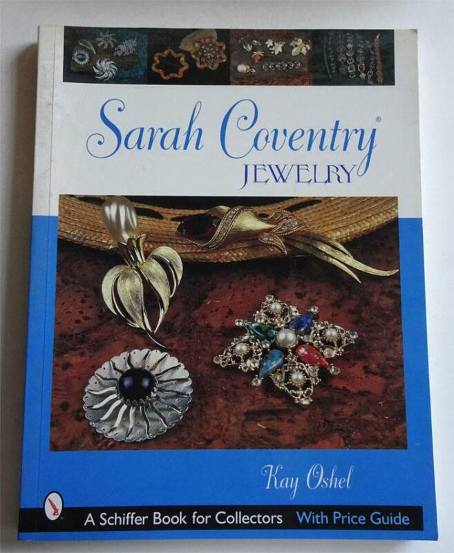 Sarah Coventry Jewelry  Kay Oshel With Price Guide 2003  Free Shipping