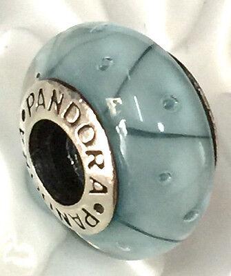 NEW Authentic Pandora silver 925 Ale murano bead charm blue 790923
