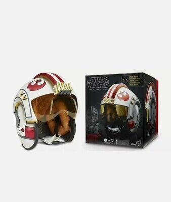 Star Wars Black Series Luke Skywalker Helmet Electronic Premium Hasbro