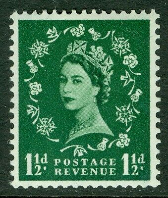 GREAT BRITAIN : 1959. Stanley Gibbons #589 Graphite. Catalog £75.00.