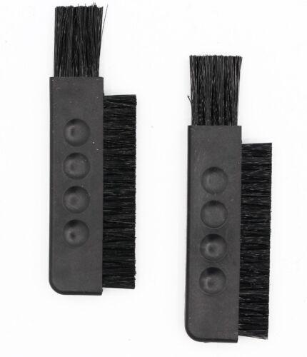 2x Reinigungsbürste (4,93€/St) für Braun, Philips, Panasonic Rasiererbürste