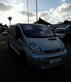 2006 Vauxhall Vivaro Sportive