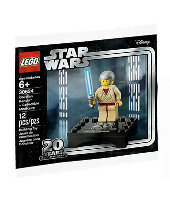 Lego Star Wars 20 Years - Obi-Wan Kenobi - Minifigure (30624) SEALED