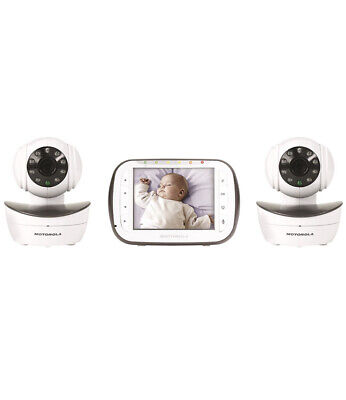 Motorola Digital Video Baby Monitor with 2 Cameras, 3.5 Inch Video Screen