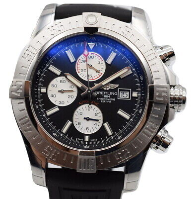Breitling Super Avenger II Men's Automatic Watch 48mm A13371111B1S2 A13371