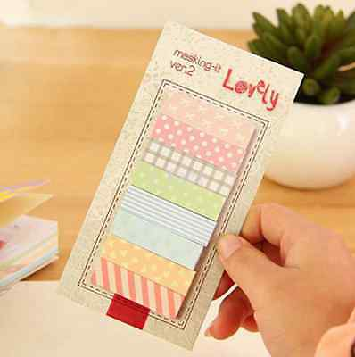 Cute 160 Pages Sticker School Supplies Memo Flags Sticky Notes Memo Pad Gift