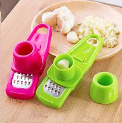 Random Color Creative Simple Grind Garlic Ginger Device Kitchen Tools Mill iFa