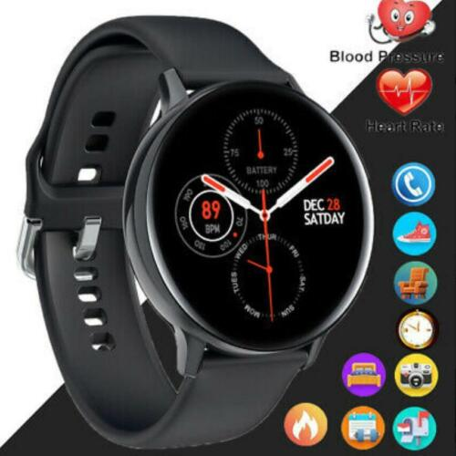 Full Screen ECG + PPG Smart Watch IP68 Men Sport band blood pressure Tracker S20