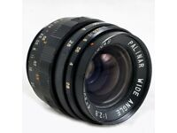 Palinar Wide Angle 35mm F2.8 Vintage Lens M42 - Fits Canon sony Pansonic Nikon Carl Zeiss