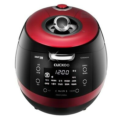 CUCKOO 6 Cups Smart IH Pressure Rice Cooker CRP-HZXB0660FR Kor/Chi Voice 220V