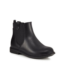 Bluezoo Girl's Black Chelsea Boots - size 10