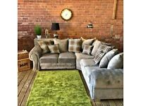 BRAND NEW VERONA CHESTERFIELD COUCHES NOW CORNER OR 3+2 SEATER SOFA IN STOCK