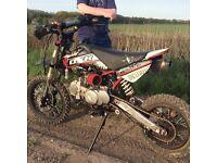Demon x 140cc pit bike £400
