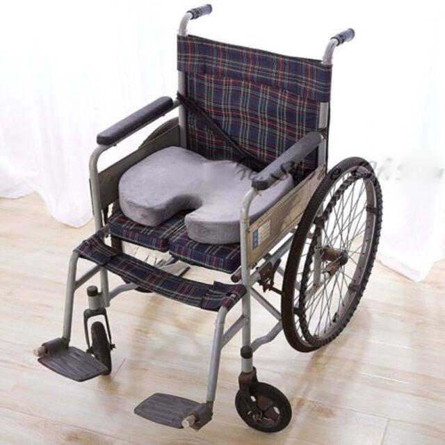 Coccyx Orthopedic Gel Enhanced Comfort Memory Foam Seat Chair Cushion Car  Travel
