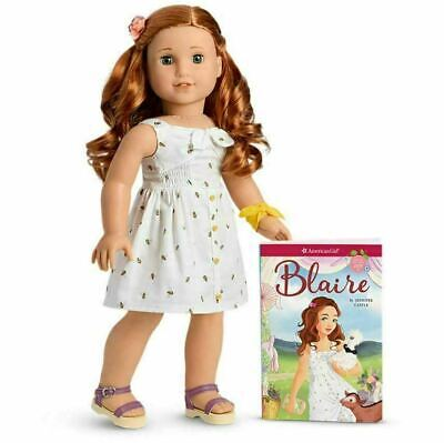 American Girl Doll Blaire Wilson Doll and Book 2019 New NIB